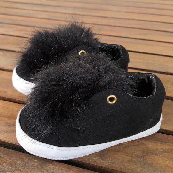 Sam Edelman Shoes | Baby Leya Black Pom